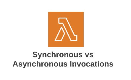 Synchronous vs Asynchronous Invocations